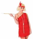 Rode roaring twenties jurk 10046790