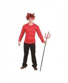 Rode spieren shirts voor volwassenen