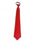 Rode stropdassen 46 cm