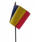 Roemenie vlaggetje polyester