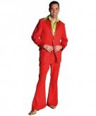 Rood colbert en broek voor heren