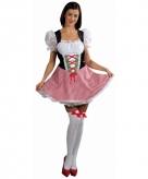 Rood oktoberfest jurkje voor dames