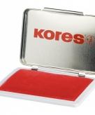 Rood stempelkussen in box