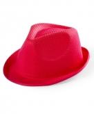 Rood verkleed hoedje voor kinderen
