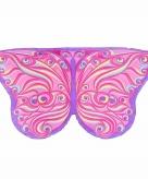 Roze fantasie vlinder kindervleugels