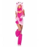 Roze fantasy monster jurkje