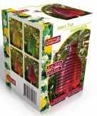 Roze insectenval insectenvanger 13 cm van glas
