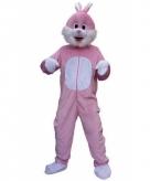 Roze paashaas kostuum