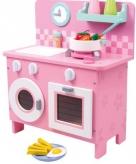 Roze speelkeuken 40 x 20 x 45 cm