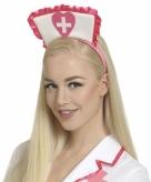 Roze tiara ziekenhuis zuster