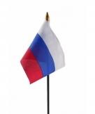 Rusland vlaggetje polyester