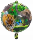 Safari dieren folie ballon 45 cm