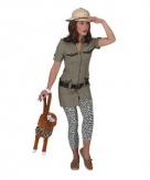 Safari outfit voor dames