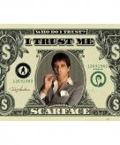 Scarface maxi poster dollar 61 x 91 5 cm