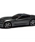 Schaalmodel chevrolet corvette 2014 1 43 grijs