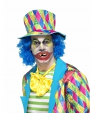 Scheve clowns tanden