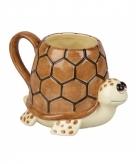 Schildpadden koffiemok 10 cm
