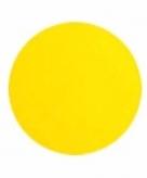 Schmink in de kleur neon geel