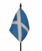 Schotland vlaggetje polyester