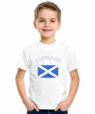Schotse vlag t-shirts voor kinderen