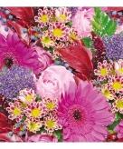 Servetten bloemen print 3 laags 20 stuks