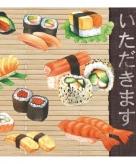 Servetten soorten sushi 3 laags 20 stuks