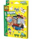 Ses kinderkamer stickers boerderij gekleurd