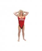 Sexy strandwacht kostuum voor heren