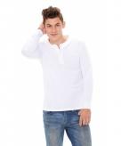 Shirt voor heren met lange mouw