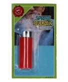 Sigaretten aansteker met waterspuit 15 cm