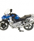 Siku bmw motor blauw r1200 model 1047
