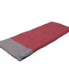 Slaapzak rood met grijs