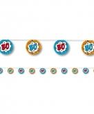 Slingers 30 jaar blauw oranje