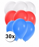 Slovenie ballonnen pakket 30x