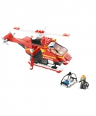 Sluban bouwsteentjes redding helikopter