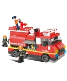 Sluban bouwstenen brandweerwagen