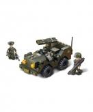 Sluban bouwstenen leger jeep