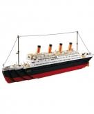 Sluban schip titanic bouwstenen set