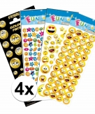 Smiley thema stickers pakket