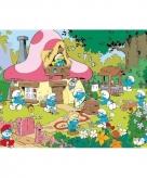 Smurfen tuin maxi poster 61 x 91 cm