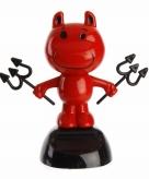 Solar dashboard duivel rood 10 cm
