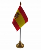 Spanje versiering tafelvlag 10 x 15 cm