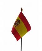 Spanje vlaggetje polyester
