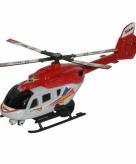Speel helikopter rood 21 cm