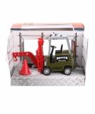Speelauto vorkheftruck groen 17 cm 10077616