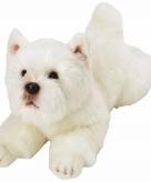 Speelgoed knuffel pluche west highland terrier 33 cm