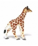 Speelgoed nep baby giraffe 7 cm