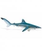 Speelgoed nep grote blauwe haaien 18 cm