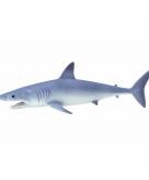 Speelgoed nep mako haai 14 cm