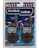 Speelgoed oranje witte walkie talkie bereik 100 meter